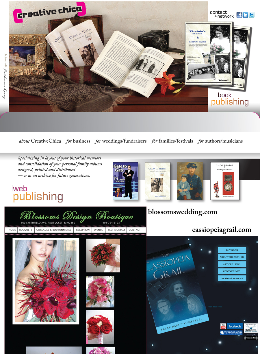 CreativeChica book and music publishing